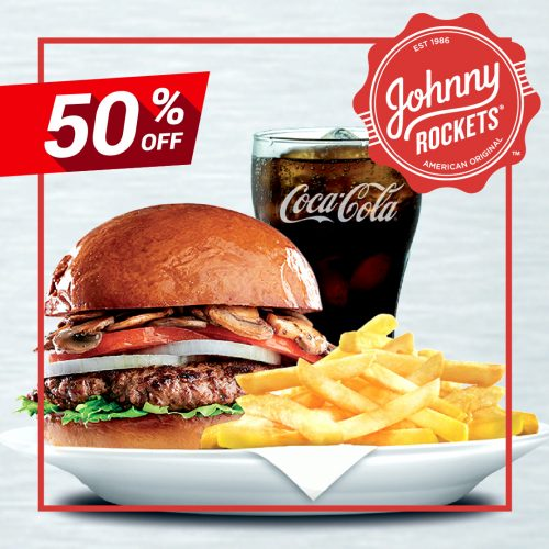50% Off At Johnny Rockets