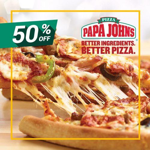 50% Off At Papa John's